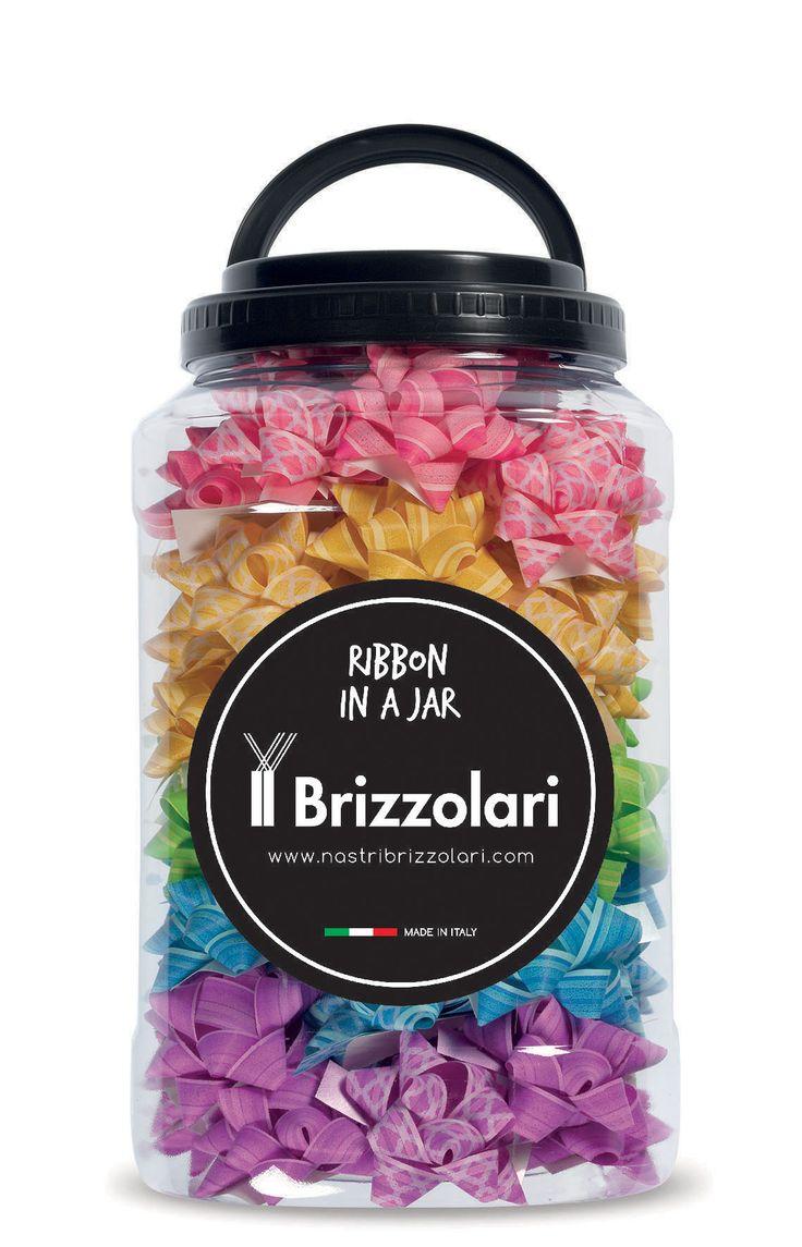 Ribbon in a Jar #nastribrizzolari #ribbon #ribboninajar #color