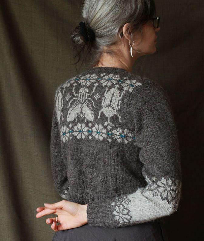 Sweater by Nikki Jones on Kate Davies Blog