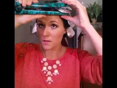 DIY All Things: She Puts Tin Foil All Over Her Head. When You See Why? You'll Want To Try It Out!