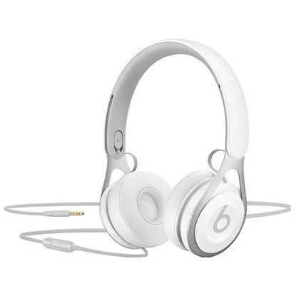 Beats by Dr. Dre EP On-Ear Headphones - White - Stereo - White - Mini-phone - Wired - Over-the-head - Binaural - Supra-aural