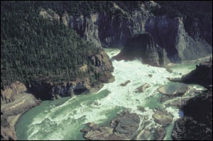 to go white water rafting , canoeing and kyaking on the South Nahanni River you have to be a skilled paddler
