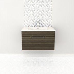 30″ 1 Drawer Floating Vanity  #bathroom #vanity #design #homedecor #interiordesign #lightwood #lightcabinets #renovations #textures #Cutler #CutlerKitchenandBath
