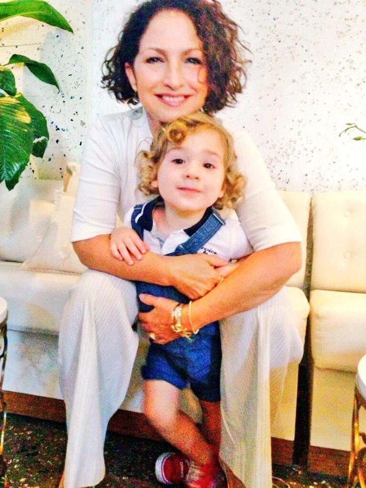 her grandson sasha so cute gloria estefan pinterest so cute