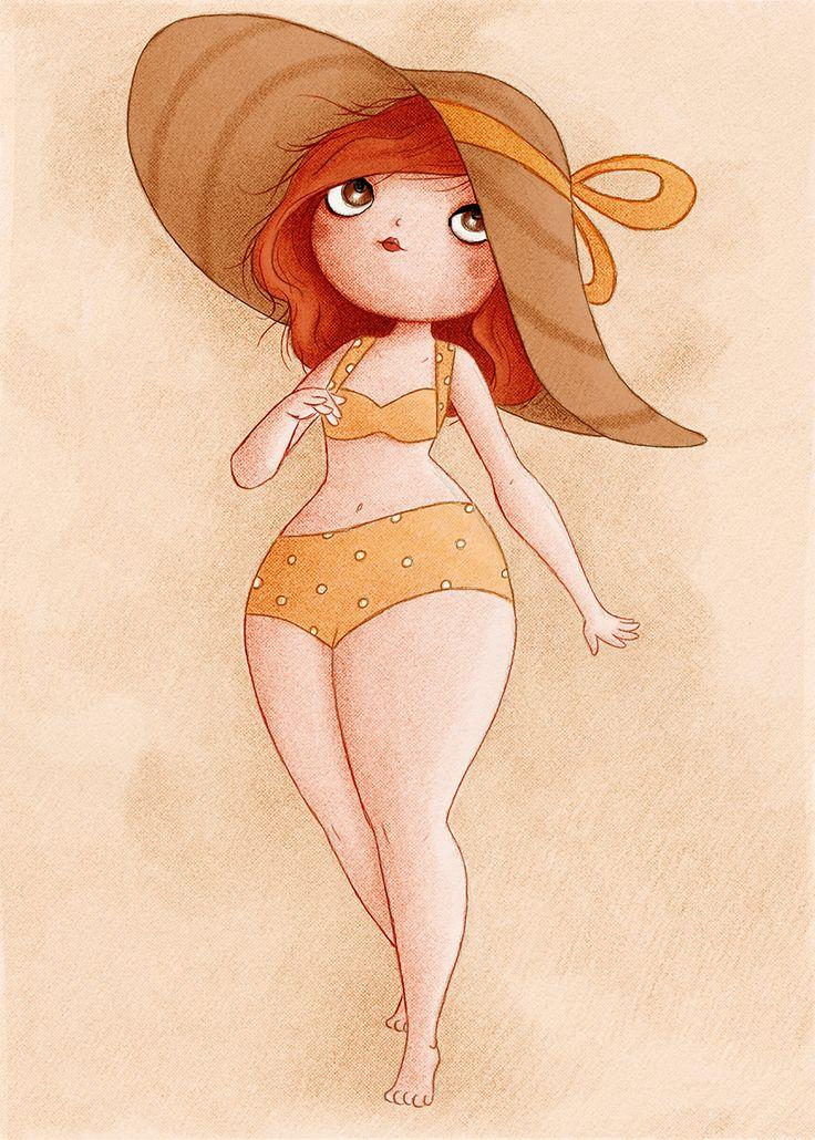 rousse au chapeau
