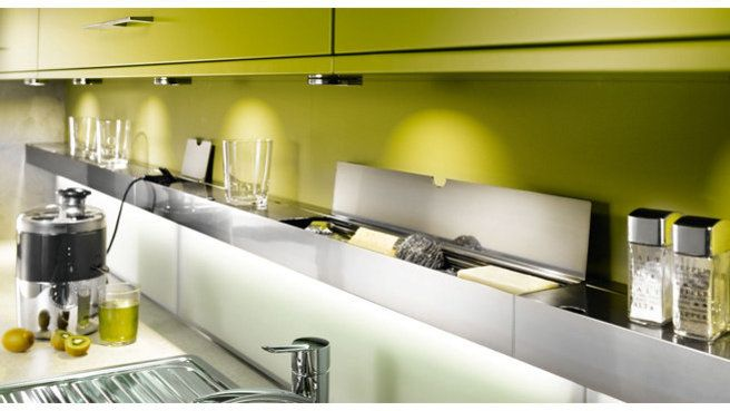 36 best images about kitchen on pinterest - Credence cuisine lumineuse ...