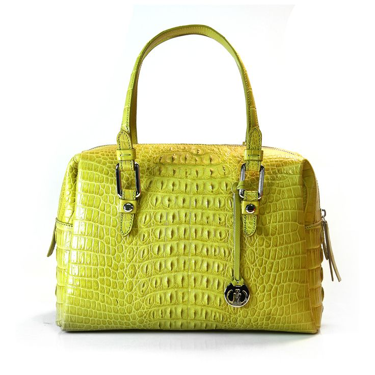genuine crocodile leather handbag from Via La Moda