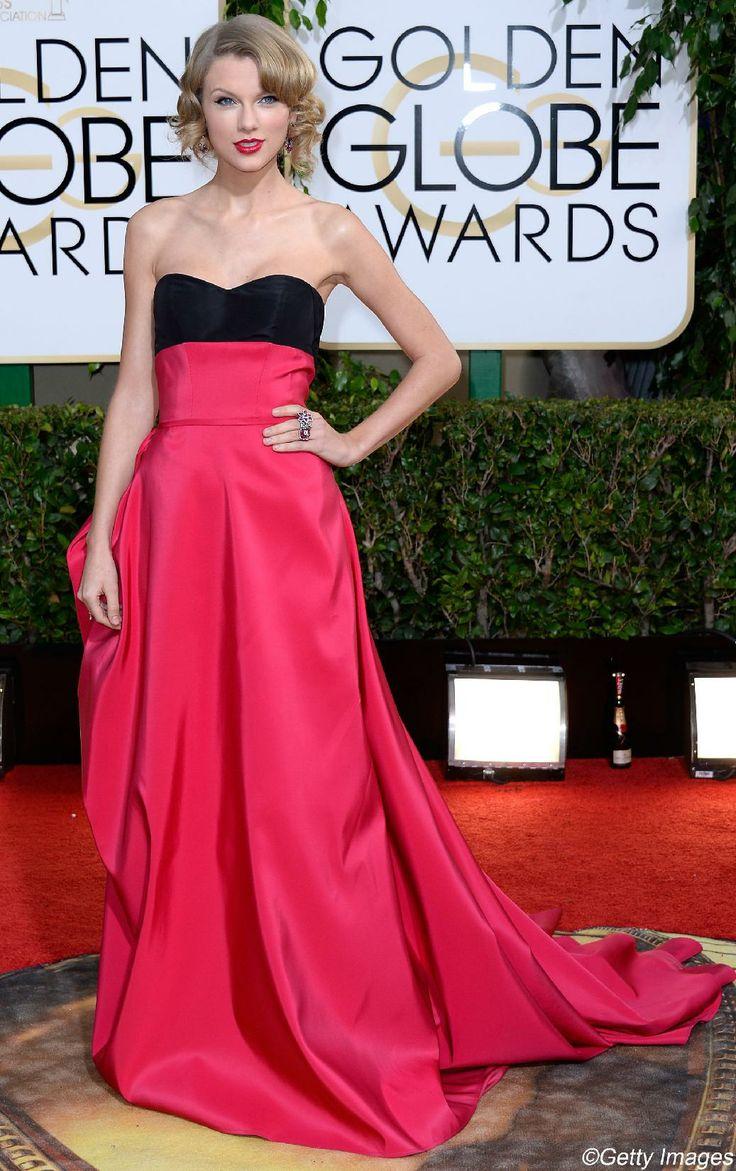 Les plus belles robes des Golden Globes 2014 : Taylor Swift   Elle Québec
