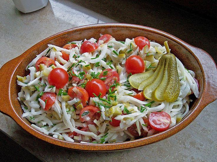 Kohlrabi-Salat, ein tolles Rezept aus der Kategorie Gemüse. Bewertungen: 85. Durchschnitt: Ø 4,1.