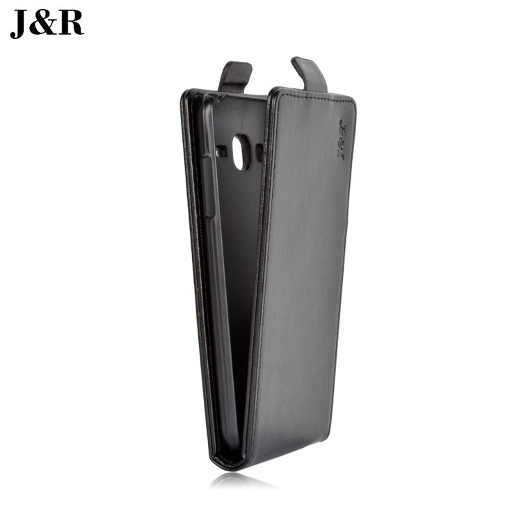 J&R Leather Case For Samsung Galaxy J3 J300F J300 J3000 Vertical Magnetic Case For Samsung Galaxy J3 Filp Cover Phone Bags&Cases