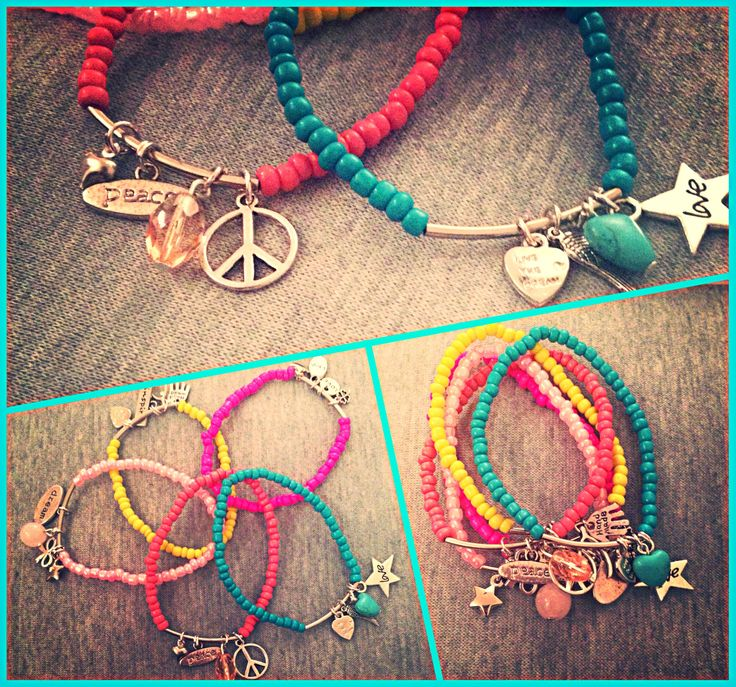 Ibiza bracelets @ www.fromlwithlove.nl
