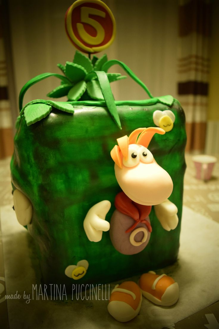 Cake Topper Rayman Origins by Martina Puccinelli