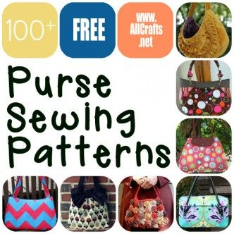 Over 100 Free Purse Sewing Patterns at AllCrafts.net