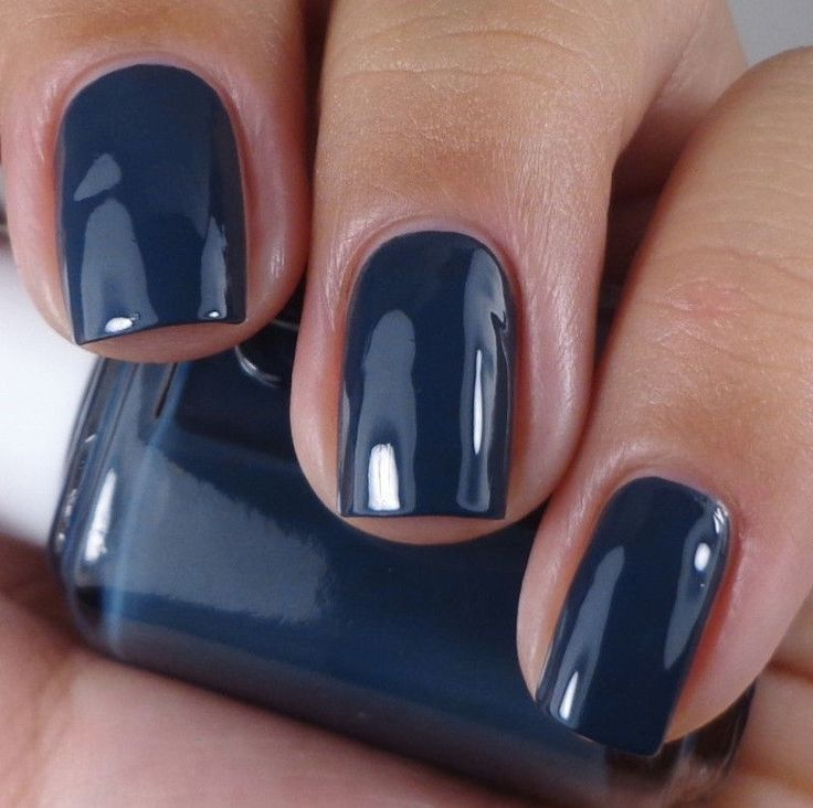 Blue Grey Nail Polish Essie: Best 20+ Navy Blue Nail Polish Ideas On Pinterest