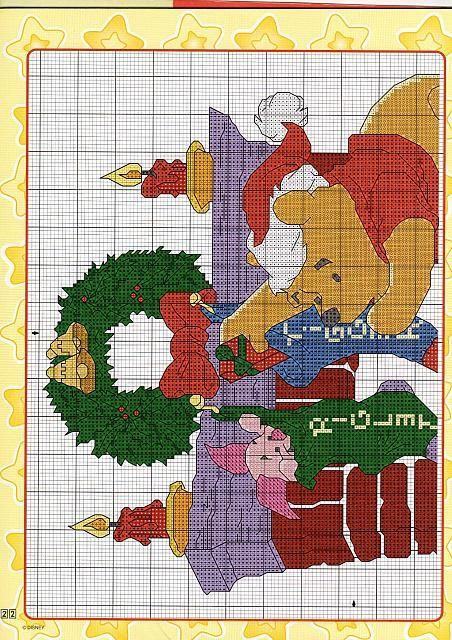 schema ricamo winnie the pooh al caminetto (1)