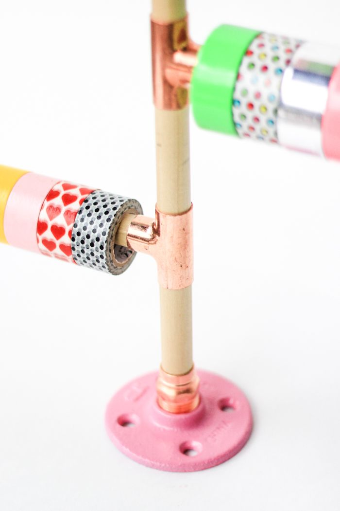 DIY Washi Tape Holder | The Crafted Life, July 2015