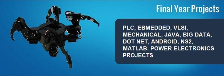 IEEE Final year project centre in Chennai. Automation projects, PLC projects, Embedded projects, VLSI projects, IT & Software projects.