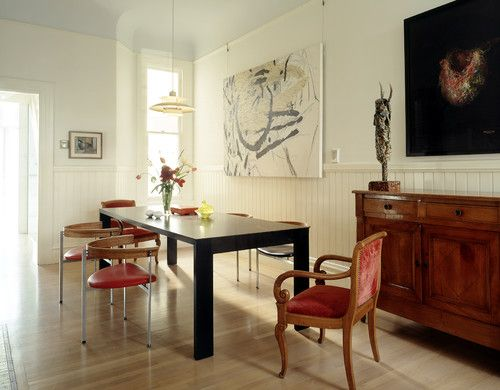 Eclectic Dining Room See More Style Mixing New Old