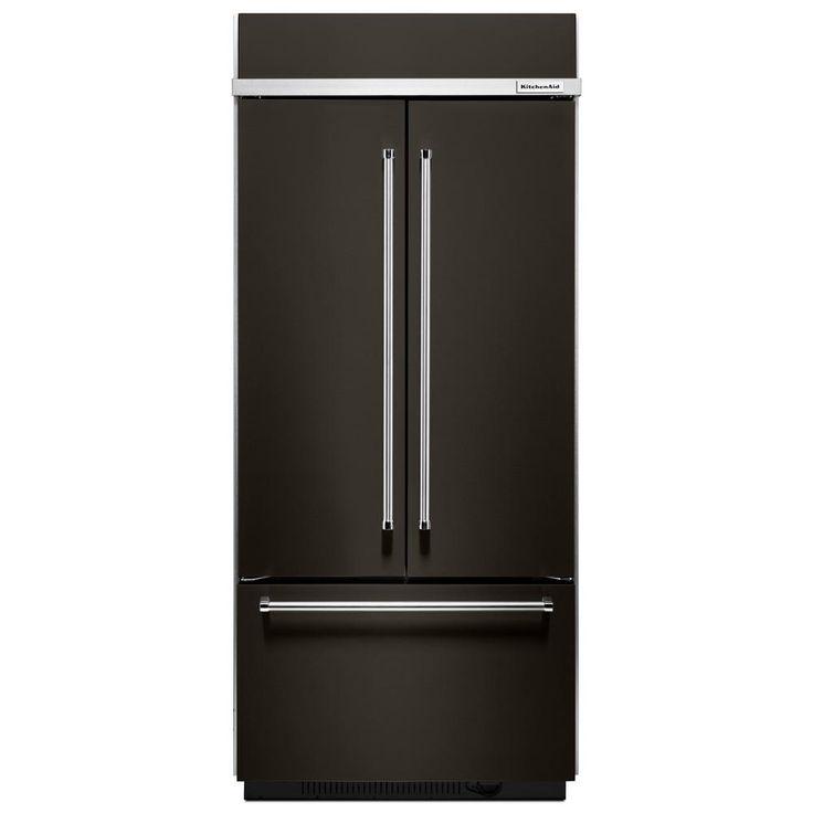 Kitchenaid 25 8 Cuft Black Stainless Steel 5 Door French: 25+ Best Ideas About Kitchenaid Refrigerator On Pinterest