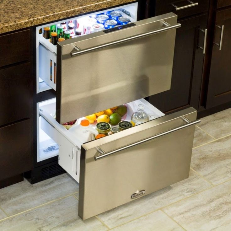 Picture Of Under Cooktop Kitchen Drawers: Best 25+ Undercounter Refrigerator Ideas On Pinterest
