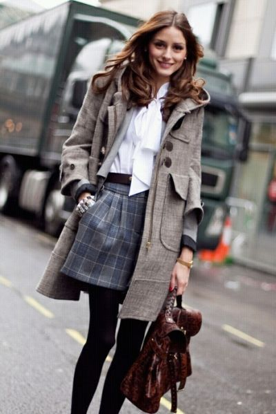 Olivia Palmero  Bro I want that coat! #englishfashion