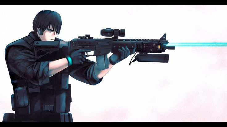Guns Weapons Anime Wallpaper 45271