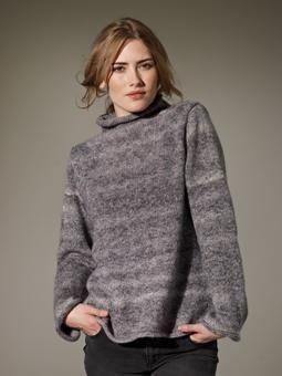 Marsh Oversized Sweater By Marie Wallin - Free Knitted Pattern With Website Registration - (knitrowan)