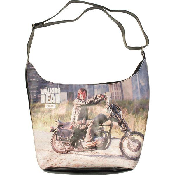 Walking Dead Daryl Motorcycle Tote Bag