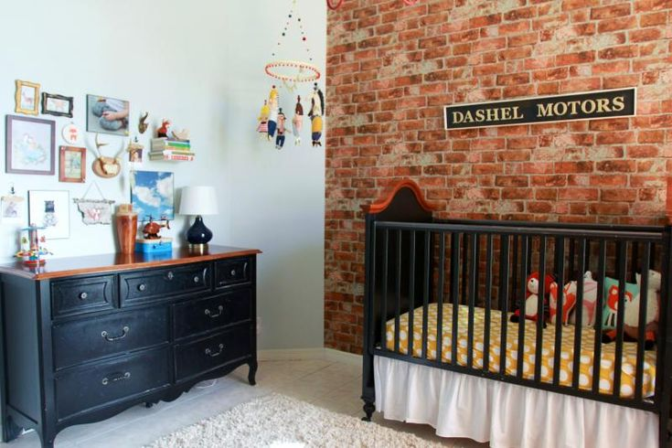 This Room Was Decorated By Kelle Hampton For Her Son S
