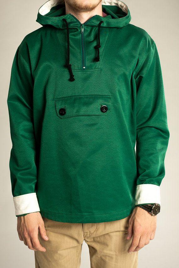 Vintage Unisex Waxed Waterproof Jacket Coat Anorak by YourRain