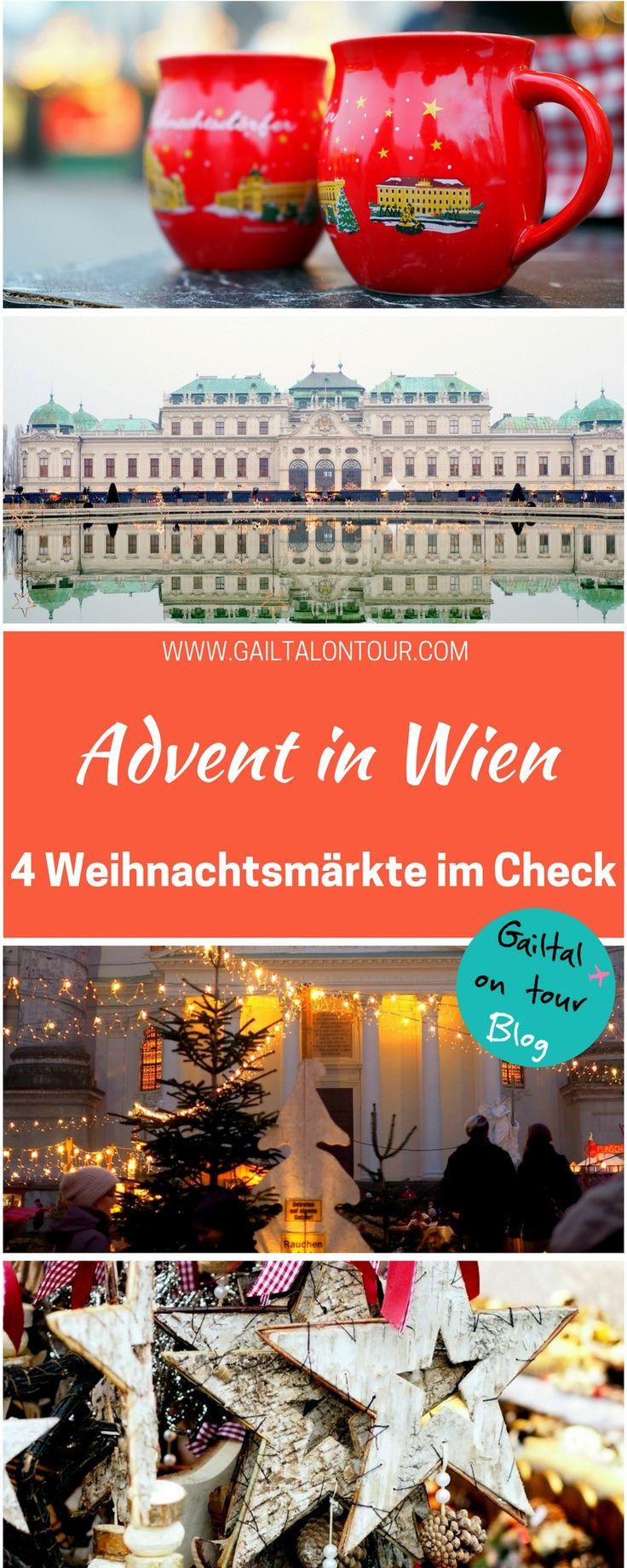 Welcher Weihnachtsmarkt in Wien sollte besucht werden? Wohin lohnt sich ein Ausflug nicht? Advent in Wien: der #Christkindlmarkt Vergleich