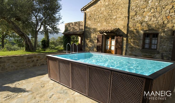 Piscina elevada Laghetto Dolcevita Outdoor decor, Hot