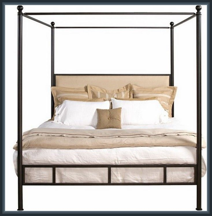 Amazing iron canopy twin bed design interior more design for Amazing canopy beds