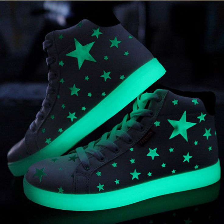 Harajuku Star Glow Sneakers  use code annameii for 10% off