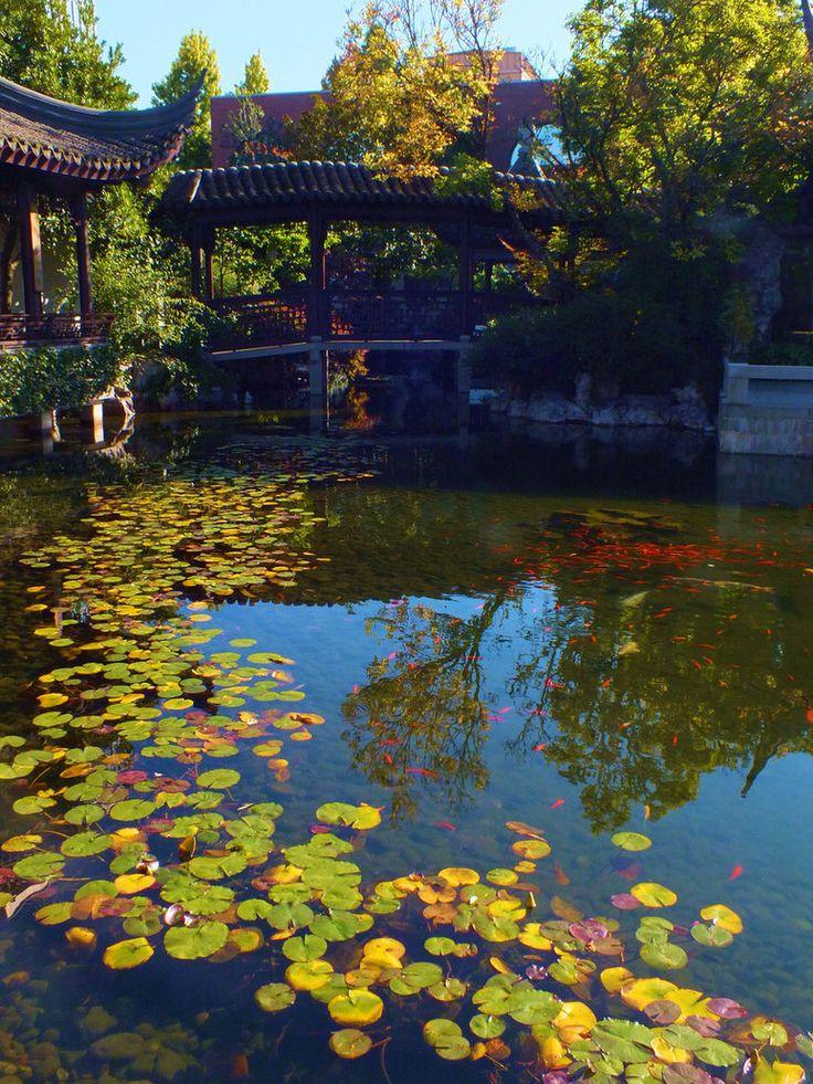 Lan Su Chinese Garden Chinese garden