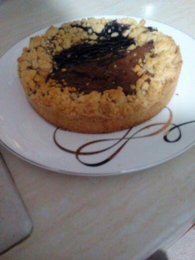 Sbriciolona senza glutine nutella e marmellata di lamponi