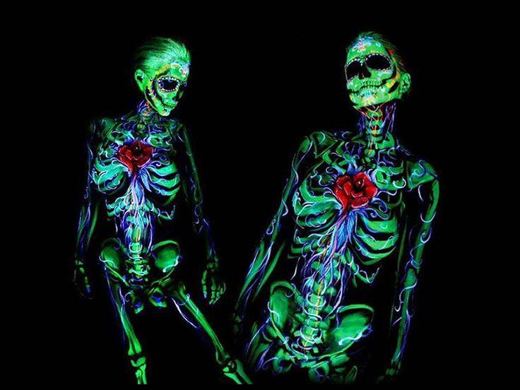 Fotoğrafçı Dewayne Flowers'ın vücut boyama sanatına bakış açısı!