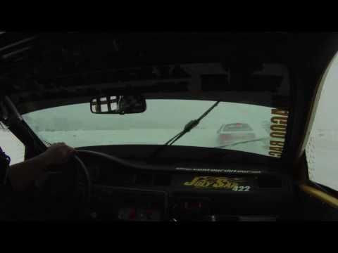 course sur glace ST-ARMAND 20 fév 10
