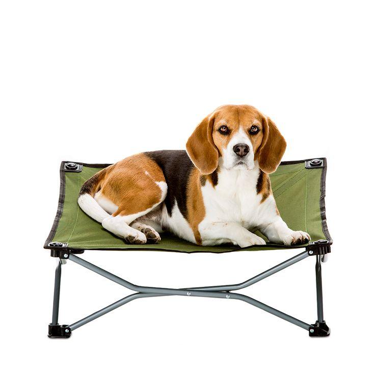 Carlson Small Portable Dog Cot   Green  Fold And Go
