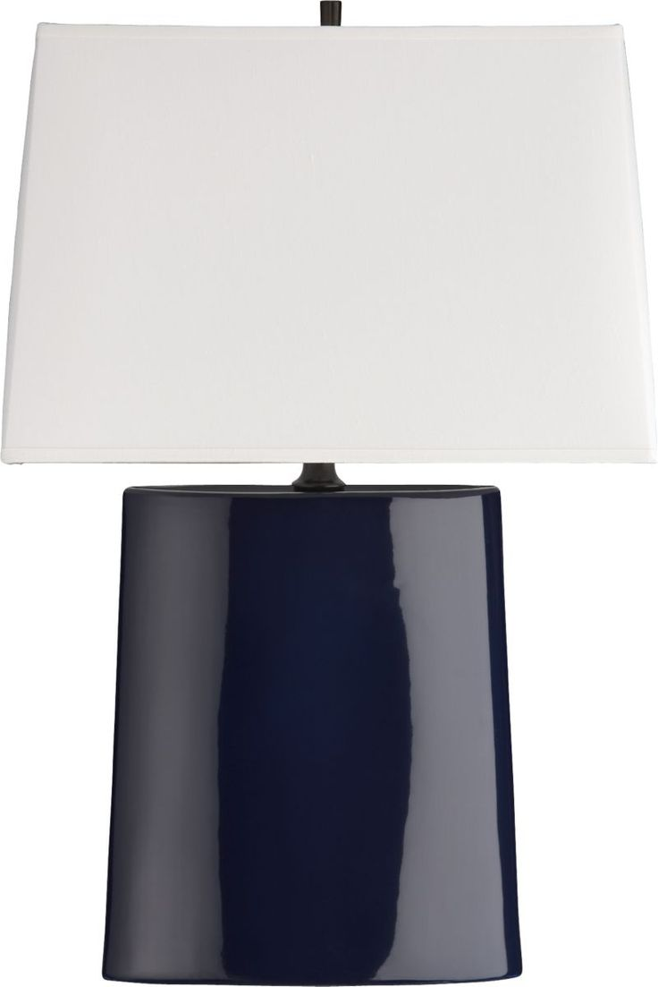 Royal blue table lamp - Boka Midnight Blue Table Lamp Crate And Barrel