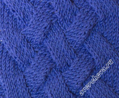 узор 406 широкая плетенка