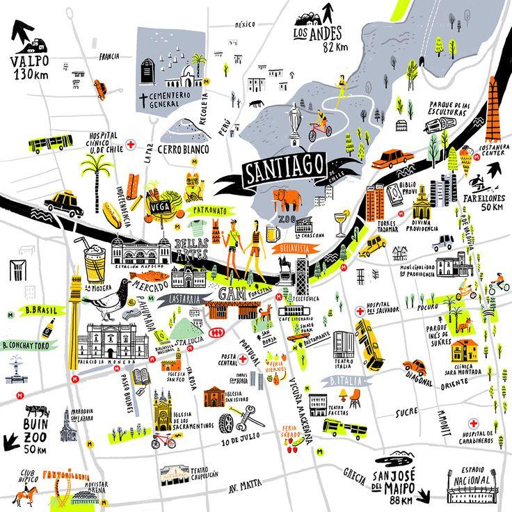 SANTIAGO MAP - OYEMATHIAS