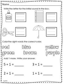 math worksheet : 74 best kindergarten worksheets images on pinterest  kindergarten  : Kindergarten Morning Worksheets