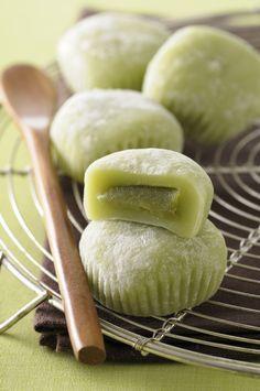 Recette de Mochis au thé vert - Ma vie en couleurs