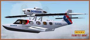 Dornier Seastar DC 2Das zweimotorige fliegende BootFSX Freeware von Premier Aircraft Design