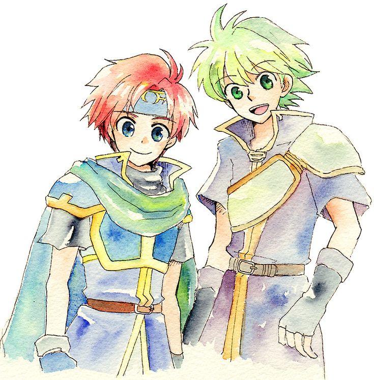 Roy & Wolt - Fire Emblem (Binding Blade) Buddies!