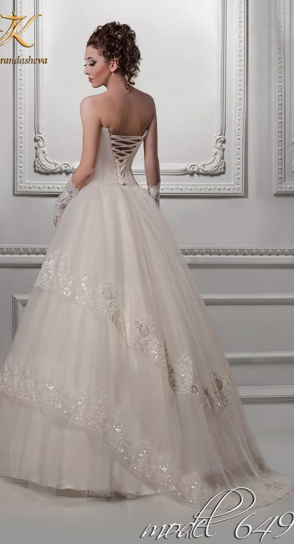 Lace Princess Wedding Dress From Viktoria Karanasheva