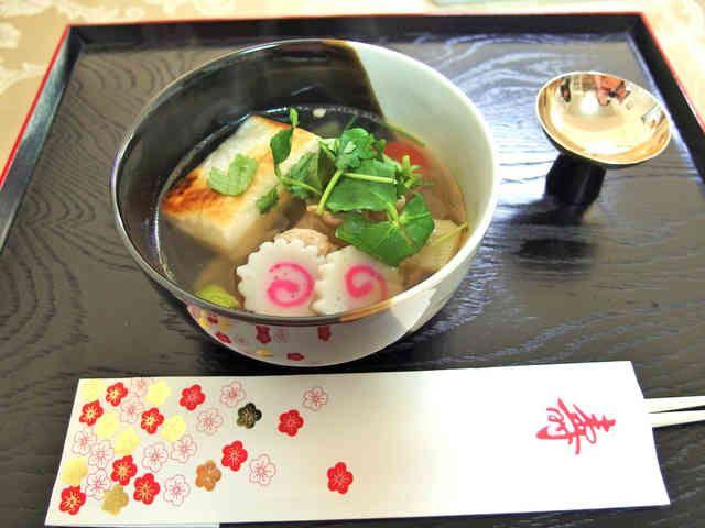 基本のお雑煮 東京風の画像