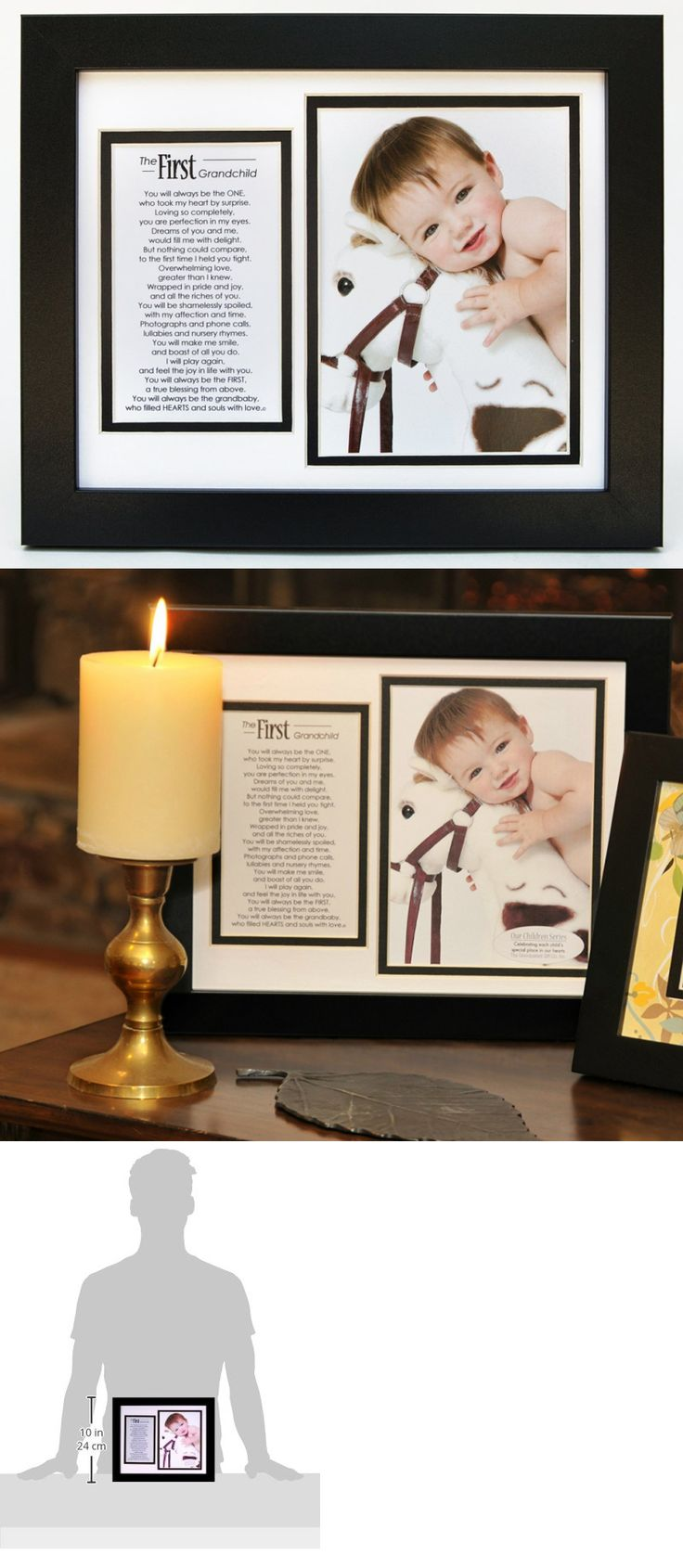 Keepsakes and Baby Announcements 117388: The Grandparent Gift Co. First Grandchild Photo Frame With Poem -> BUY IT NOW ONLY: $33.99 on eBay!