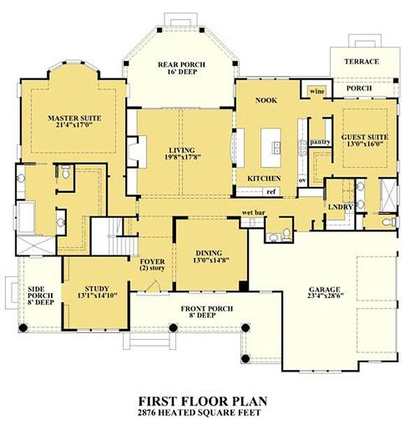 Pilothouse Landing Coastal House Plans From Coastal Home Plans Lake House Plans Coastal House Plans House Plans