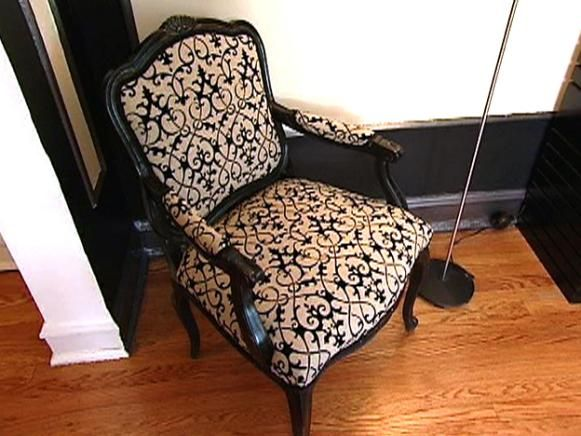 How To Re Cover An Upholstered Chair